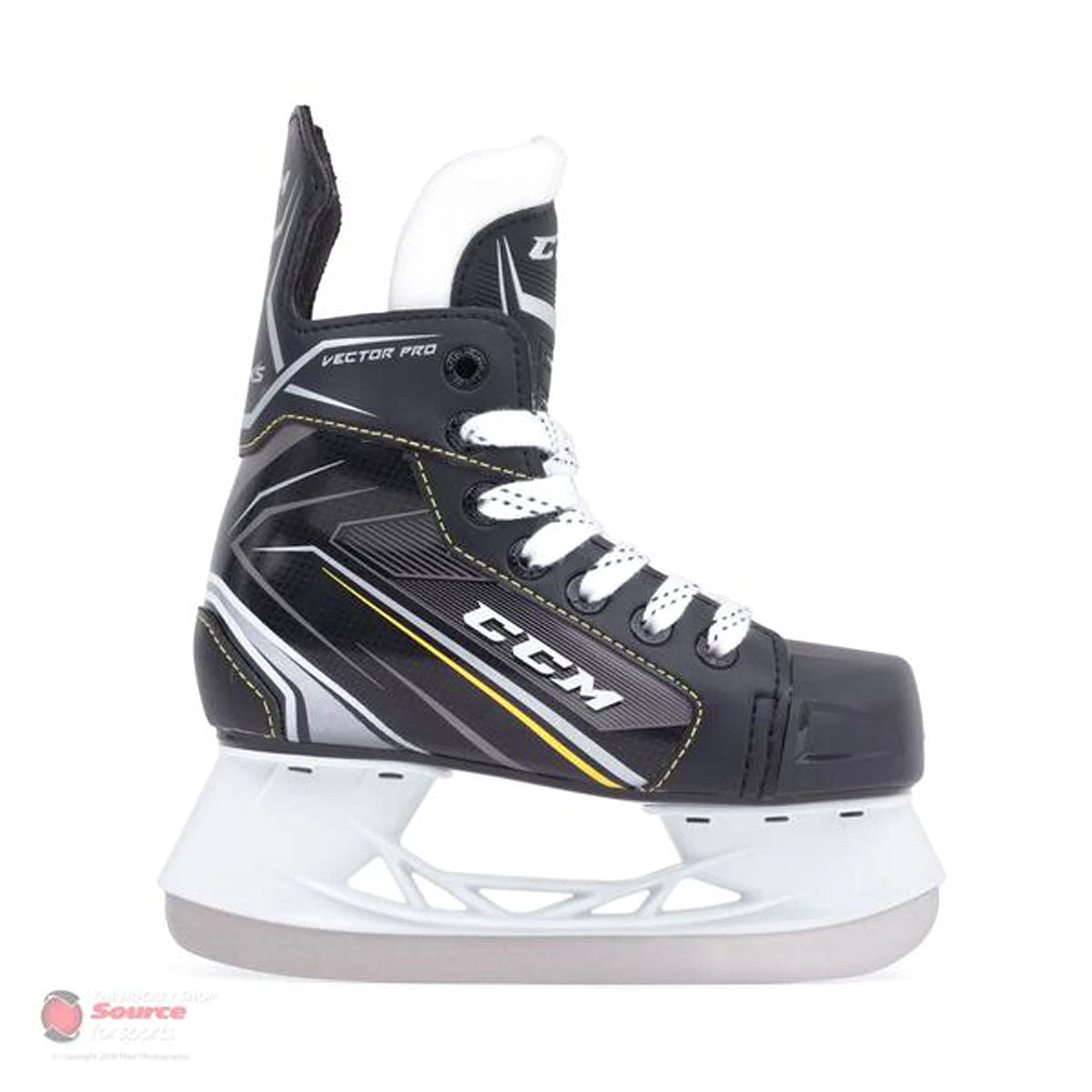 CCM Tacks Vector Pro Youth Hockey Skates (2018)