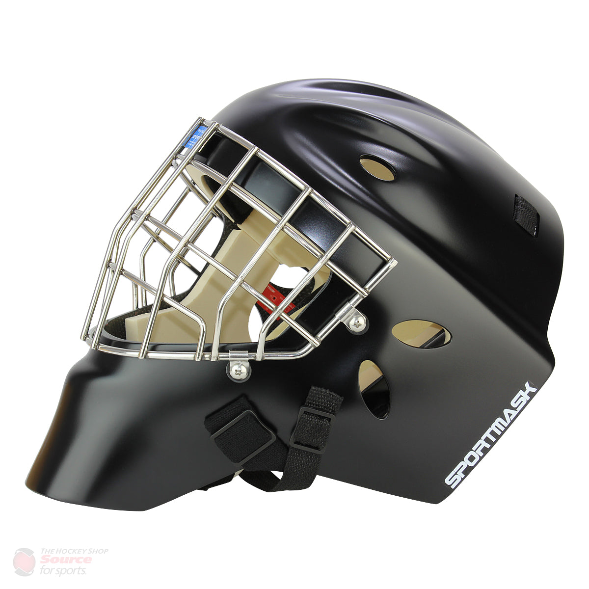 Sportmask T3 Senior Goalie Mask - Matte Black