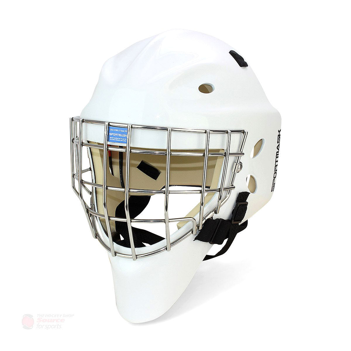 Sportmask X8 Senior Goalie Mask - White