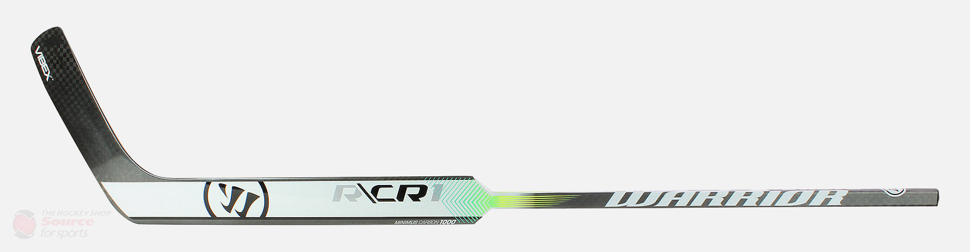 Warrior Ritual CR1 Senior Composite Goal Stick - Silver / White