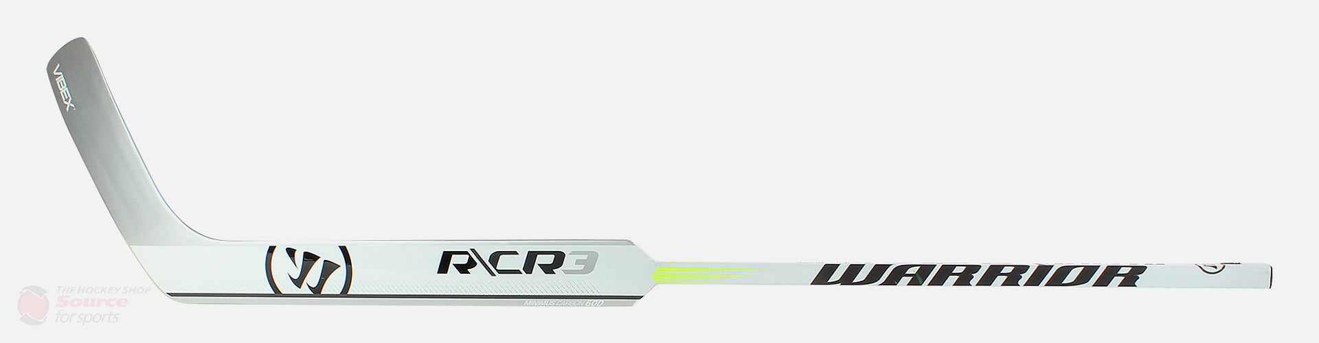 Warrior Ritual CR3 Senior Composite Goalie Stick - White / Black