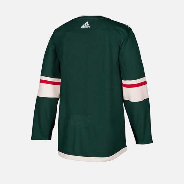 Minnesota Wild Home Adidas Authentic Senior Jersey