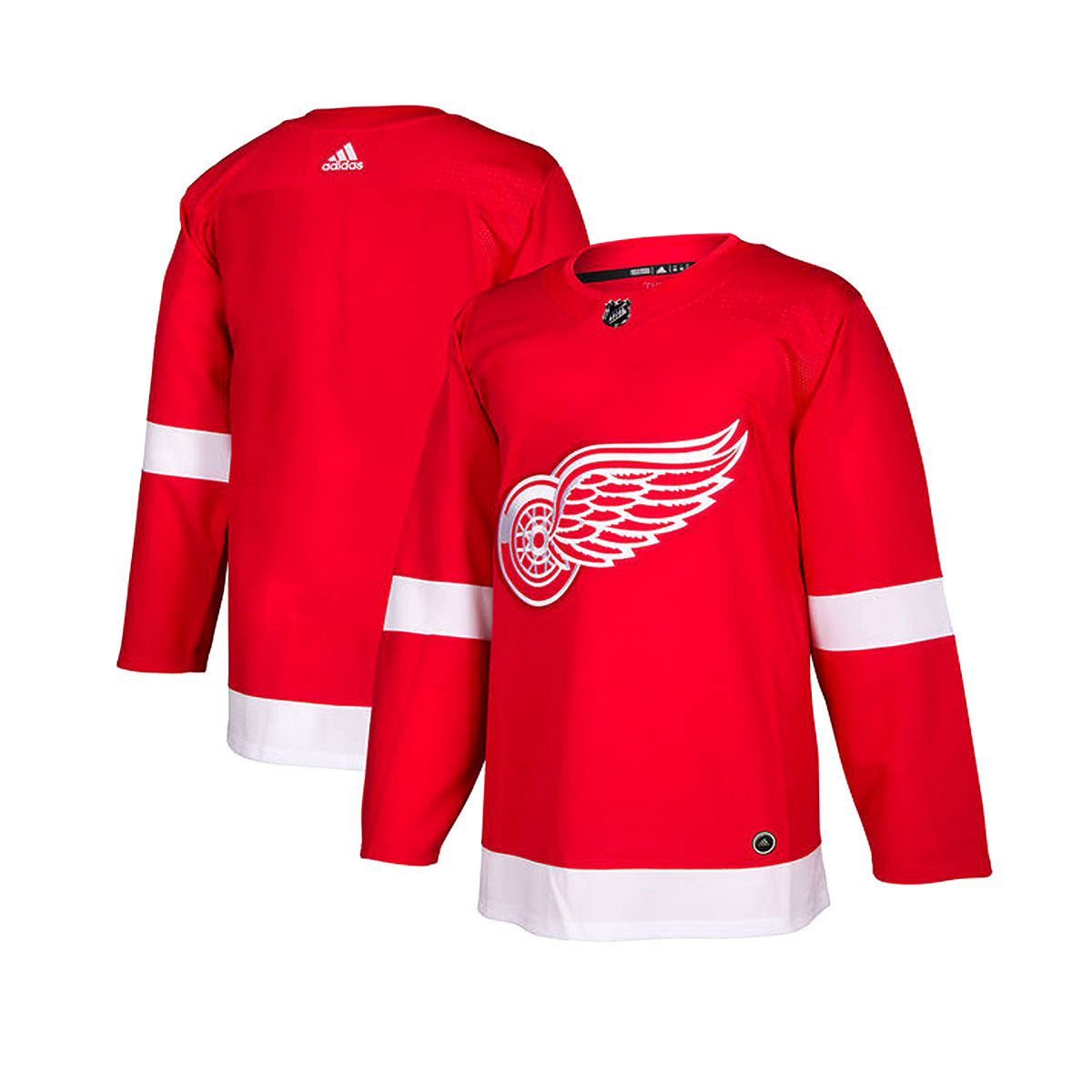 new arrival f8647 06d58 Detroit Red Wings Adidas Authentic Senior Home Jersey