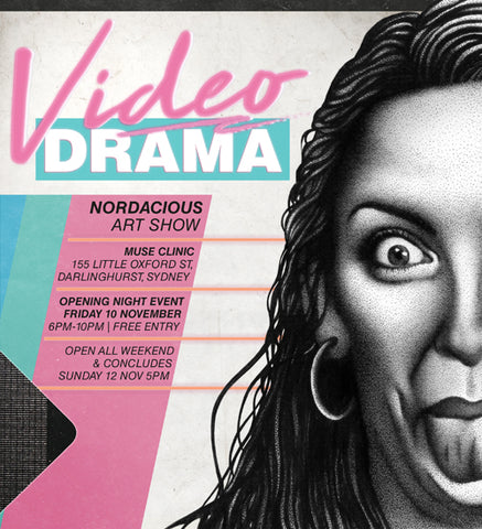 Video Drama Nordacious Art Show