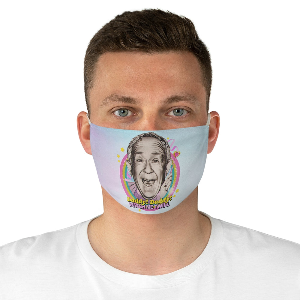 WATCH ME TWIRL - Fabric Face Mask