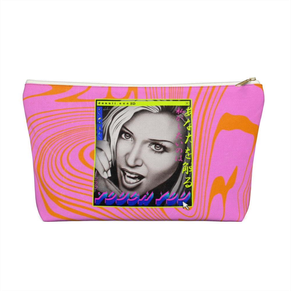 TOUCH YOU - Accessory Pouch w T-bottom