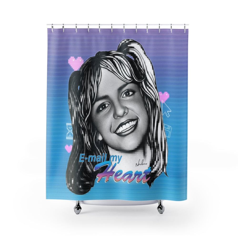 E-mail My Heart - Shower Curtains