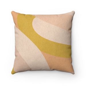 How's The Serenity? - Spun Polyester Square Pillow 16x16""