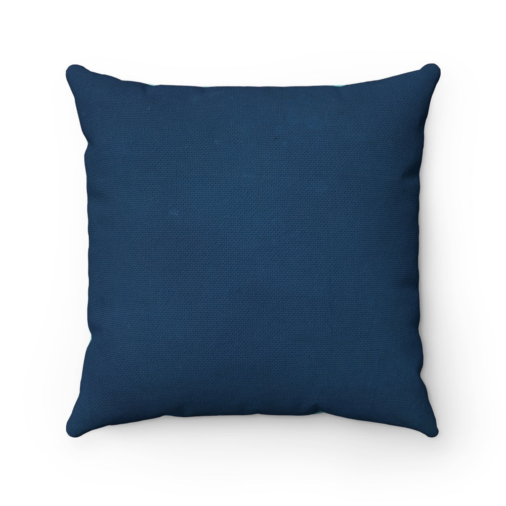 Feel The Dern - Spun Polyester Square Pillow 16x16""
