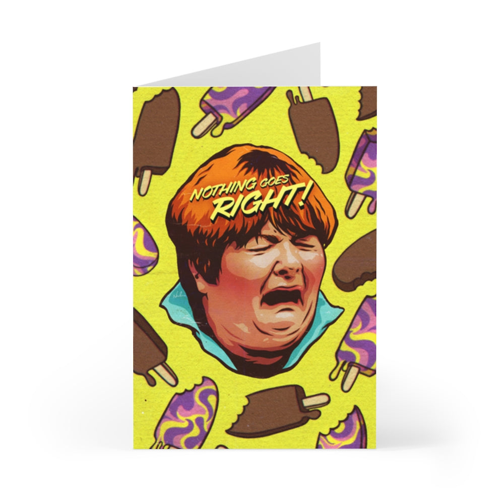 NOTHING GOES RIGHT! - Greeting Cards (7 pcs)