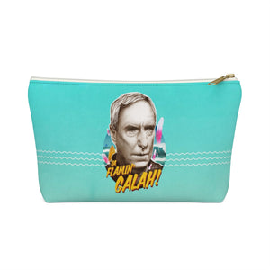 YA FLAMIN' GALAH! - Accessory Pouch w T-bottom