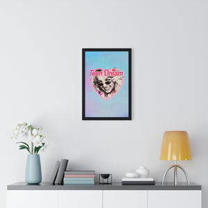 TEEN DREAM [Coloured BG] - Premium Framed Vertical Poster