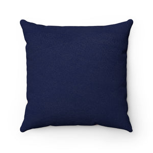 HYACINTH - Flowers Faux Suede Square Pillow