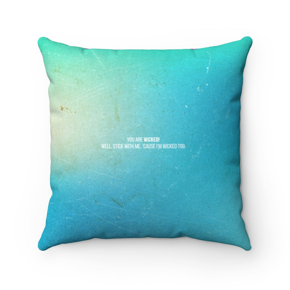I'm With Muriel's - Spun Polyester Square Pillow 16x16""
