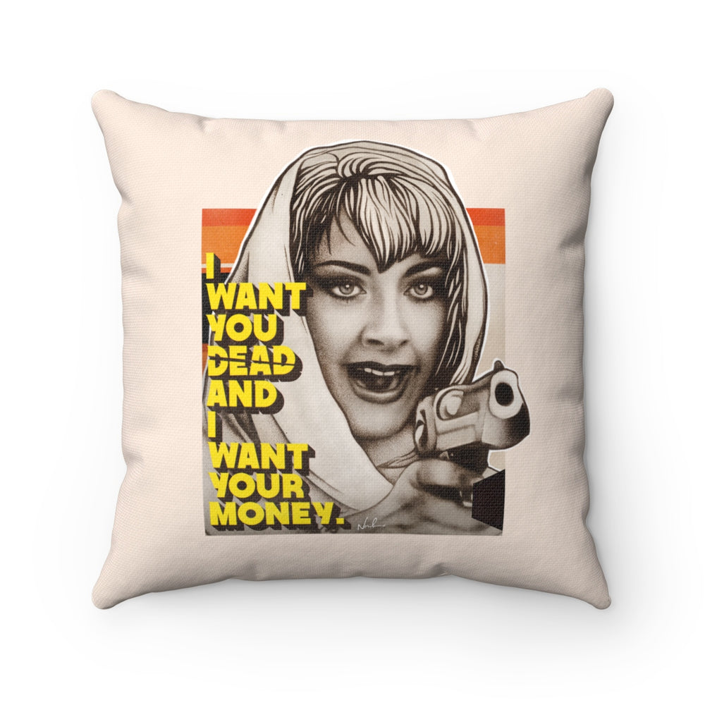 DEBBIE - Spun Polyester Square Pillow 16x16""