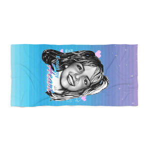 E-mail My Heart - Beach Towel