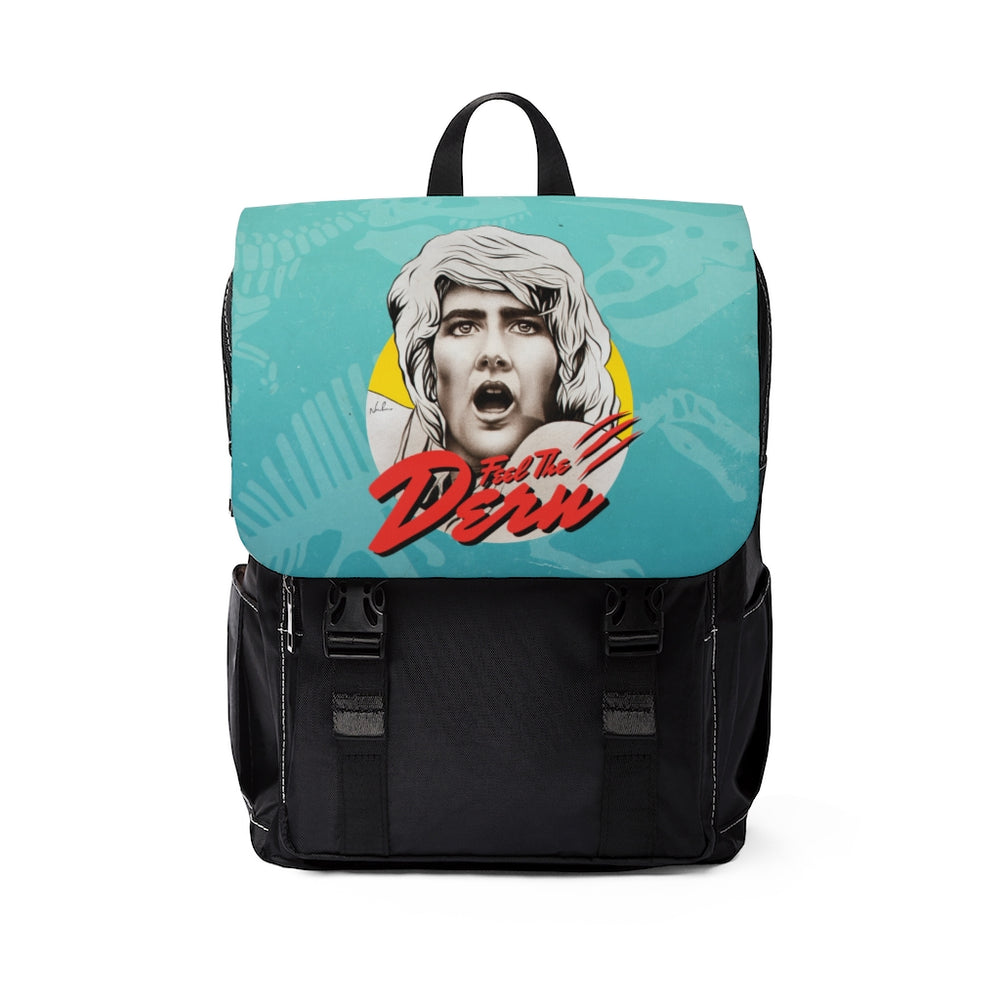 Feel The Dern - Unisex Casual Shoulder Backpack