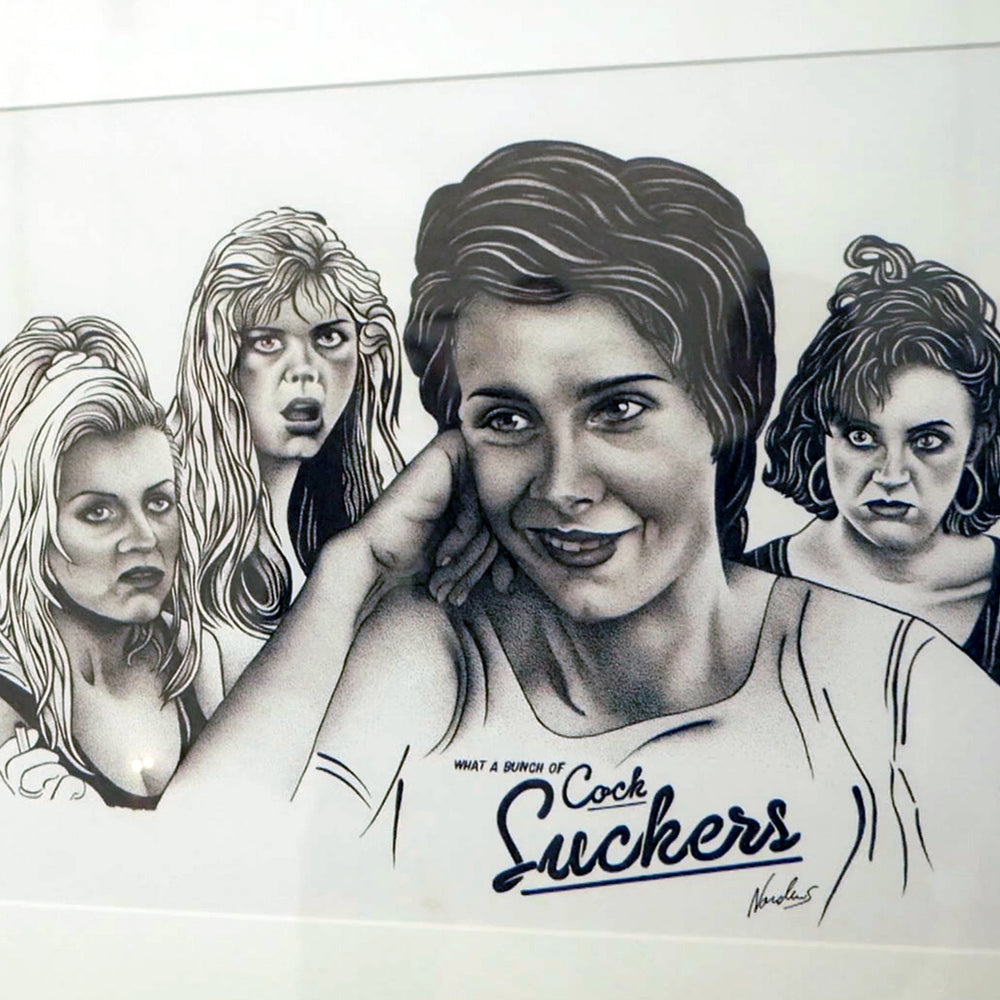 SUCKERS - Framed Original