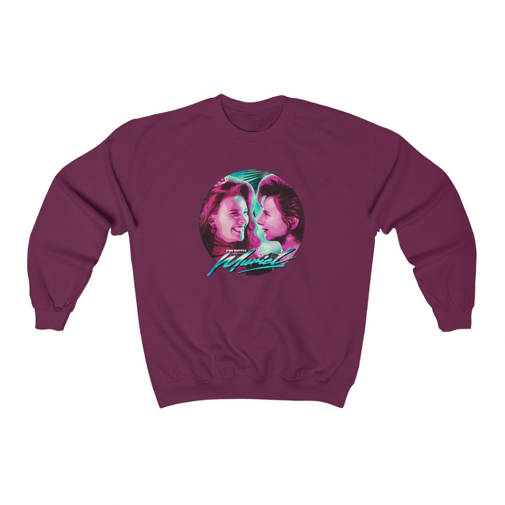 I'm With Muriel - Unisex Heavy Blend™ Crewneck Sweatshirt