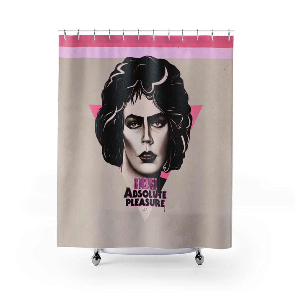 Give Yourself Over To Absolute Pleasure - Shower Curtains