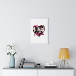 RIDE OR DIE - Premium Framed Vertical Poster