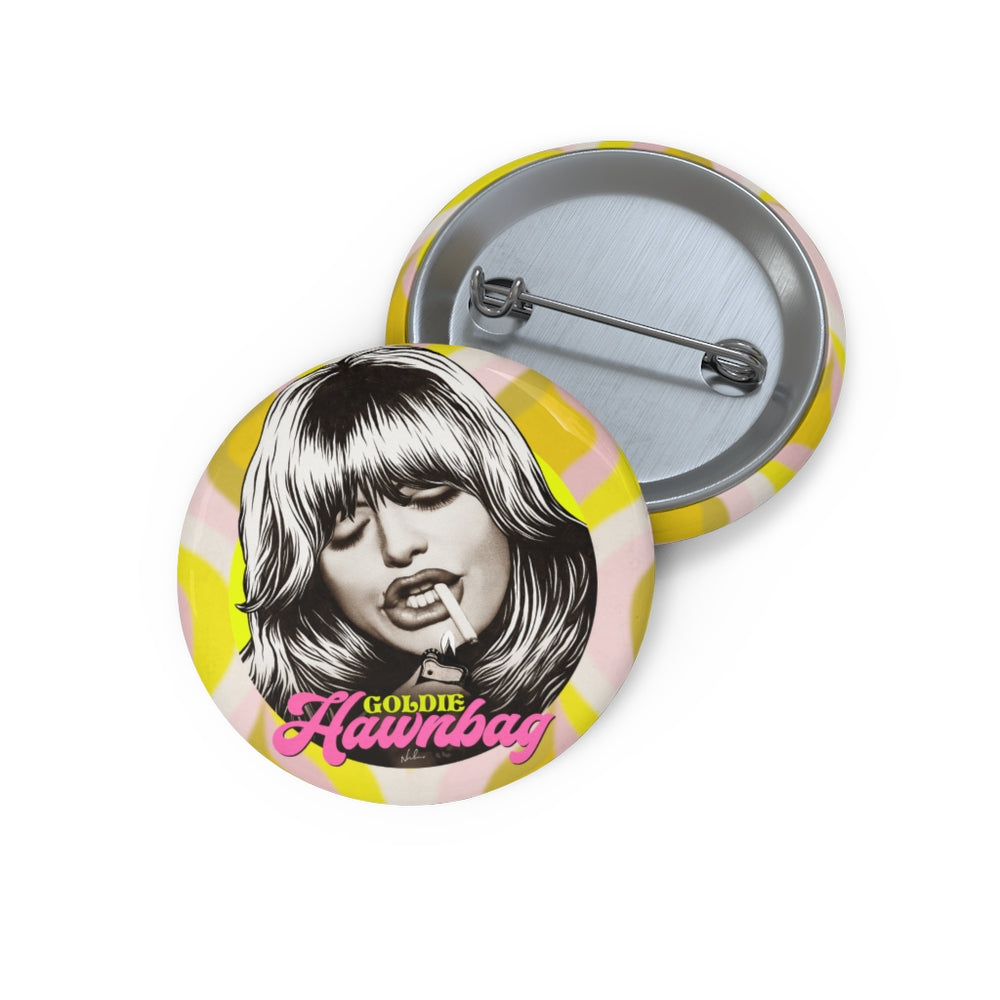 GOLDIE HAWNBAG - Custom Pin Buttons