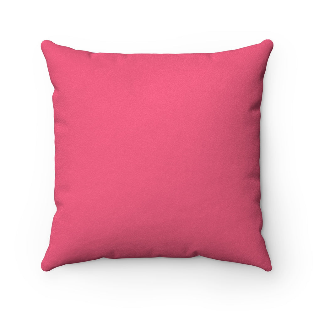 What A Coincidence! - Faux Suede Square Pillow