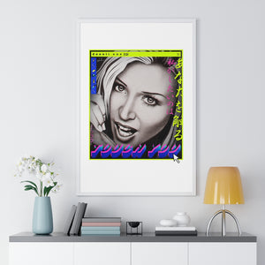 TOUCH YOU - Premium Framed Vertical Poster