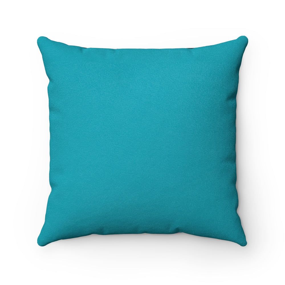 Goodbye Porpoise Spit! - Faux Suede Square Pillow