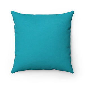 Goodbye Porpoise Spit! - Faux Suede Square Pillow 16x16""