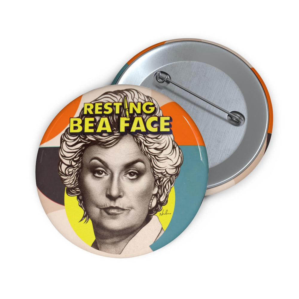 RESTING BEA FACE - Pin Buttons