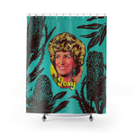 Foxy Moron - Shower Curtains