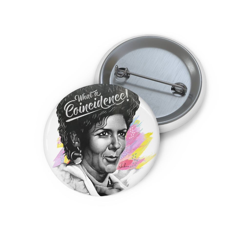 What A Coincidence! - Pin Buttons
