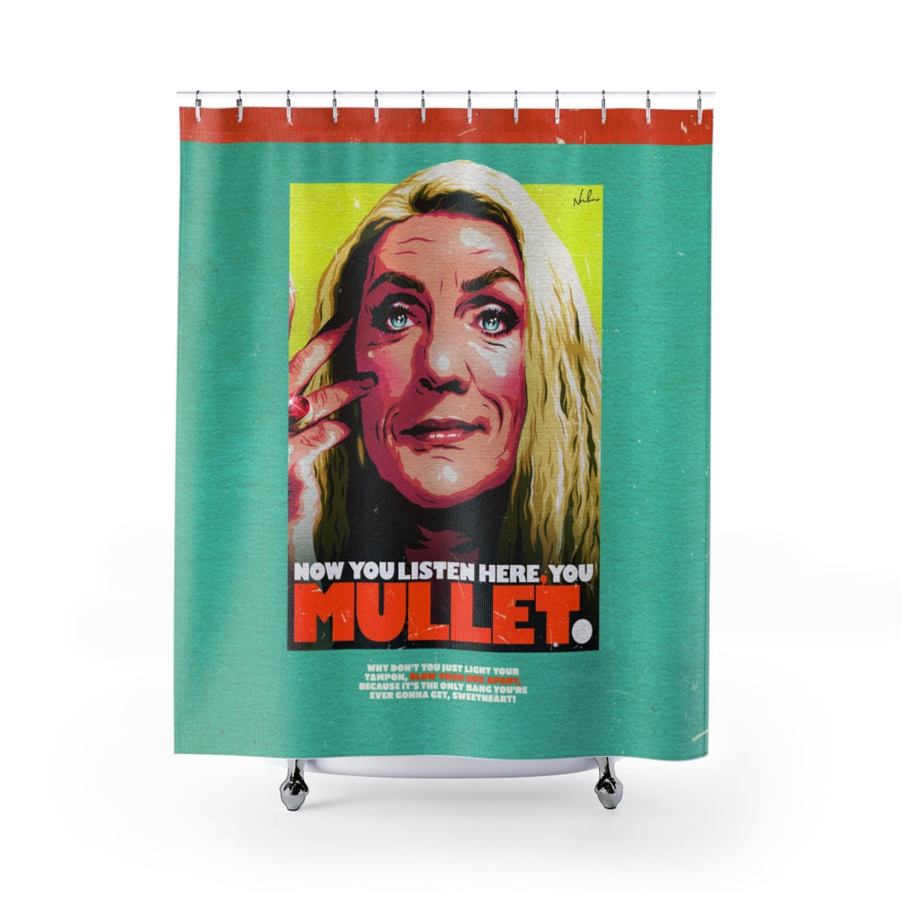 YOU MULLET - Shower Curtains