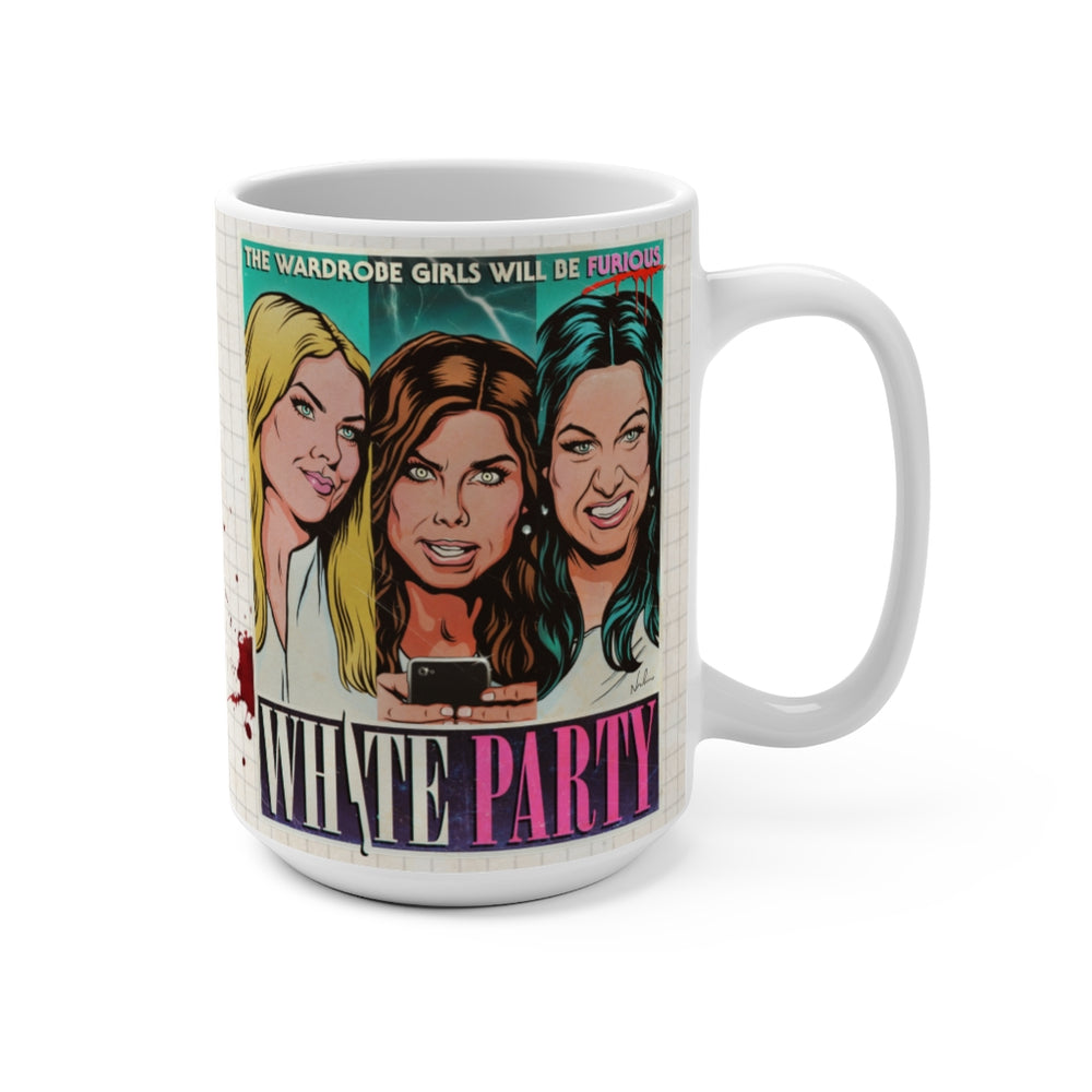 WHITE PARTY - Mug 15oz
