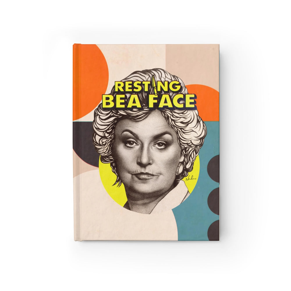 RESTING BEA FACE  - Journal - Blank