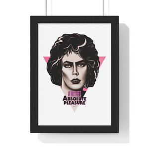 Give Yourself Over To Absolute Pleasure - Premium Framed Vertical Poster