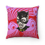 MEOW - Spun Polyester Square Pillow 16x16""