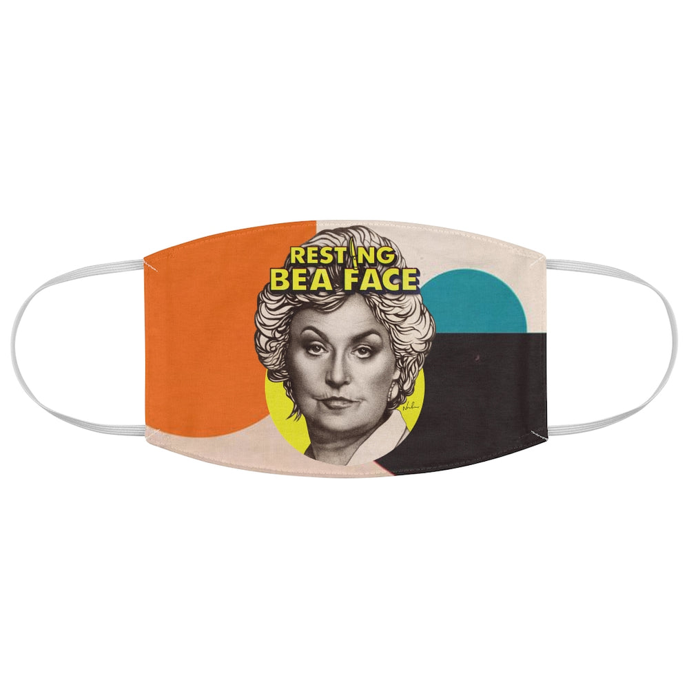 RESTING BEA FACE - Fabric Face Mask