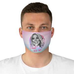 I DON'T KNOW HER - Fabric Face Mask