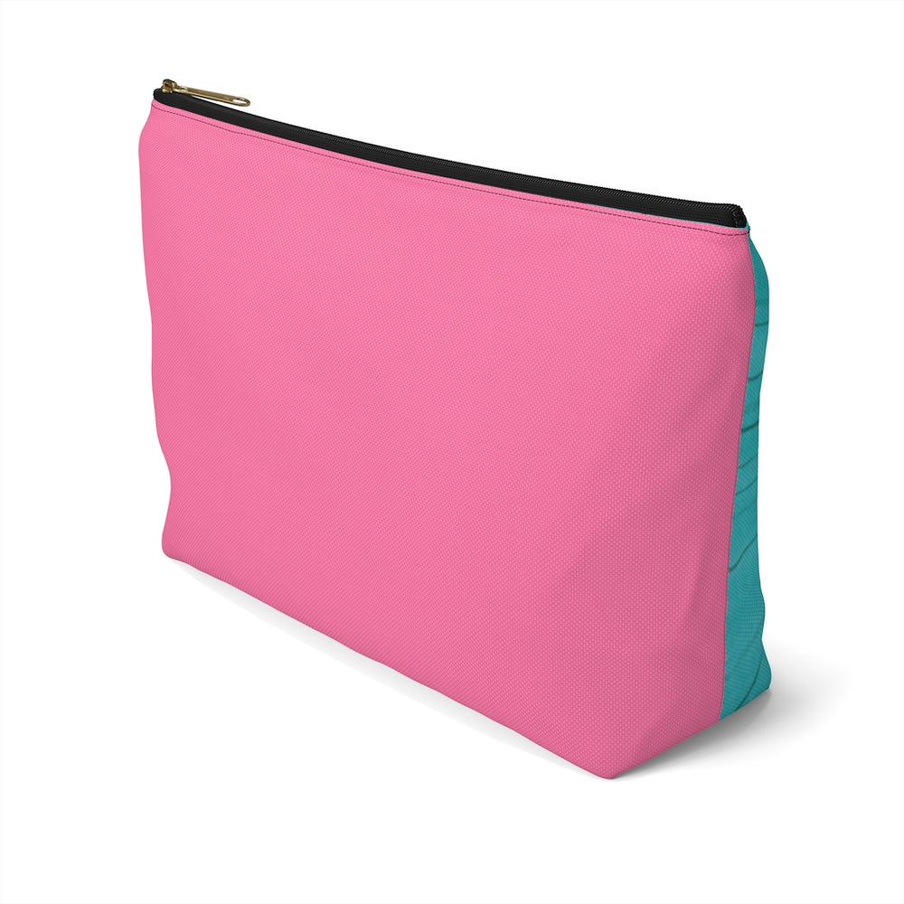 STRONGER THAN YESTERDAY - Accessory Pouch w T-bottom