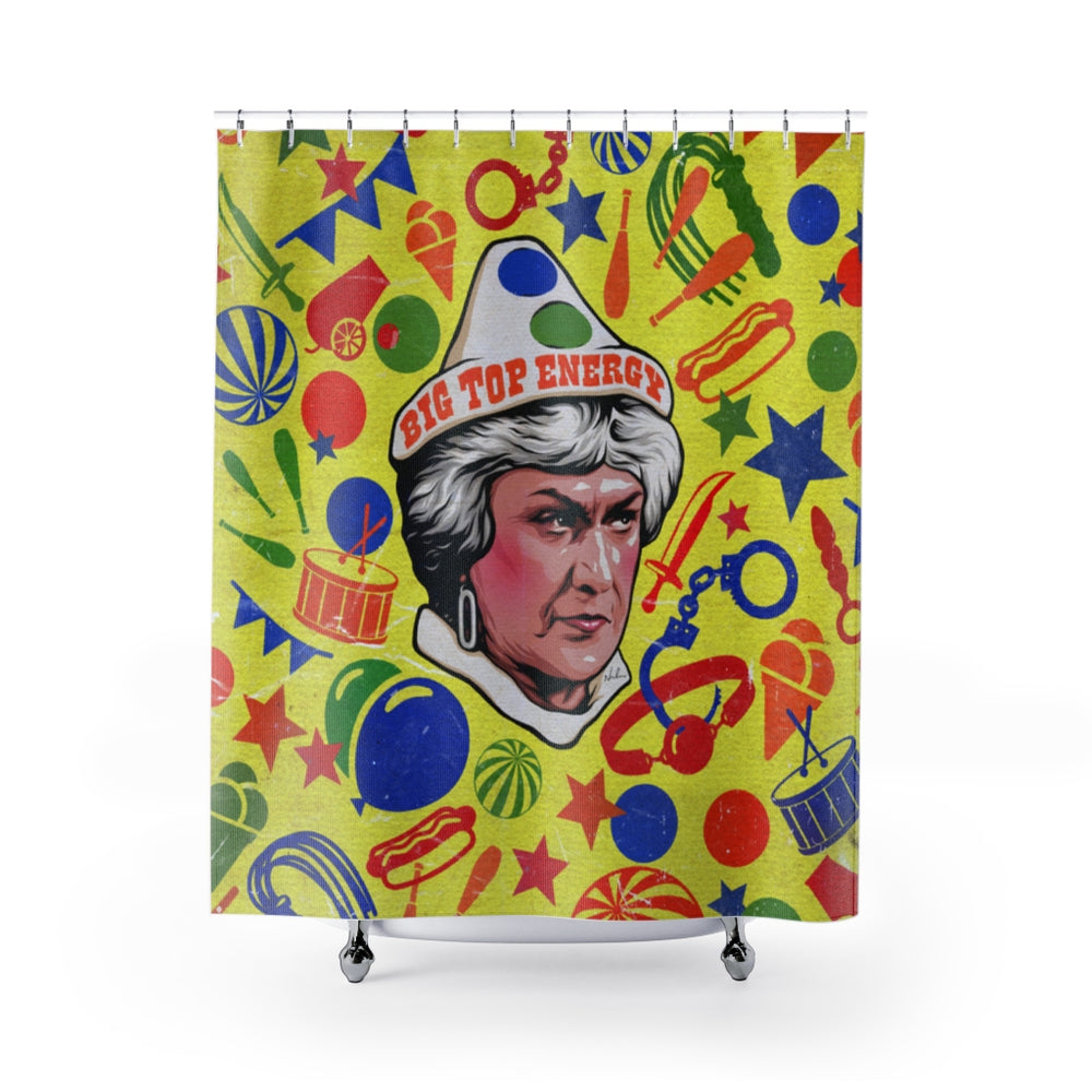 BIG TOP ENERGY - Shower Curtains