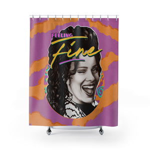 FEELING FINE - Shower Curtains