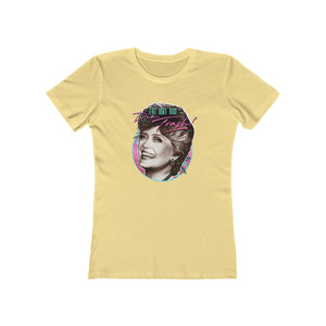 EAT DIRT AND DIE, TRASH! – Women's The Boyfriend Tee