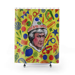 SEND IN THE FROWNS - Shower Curtains
