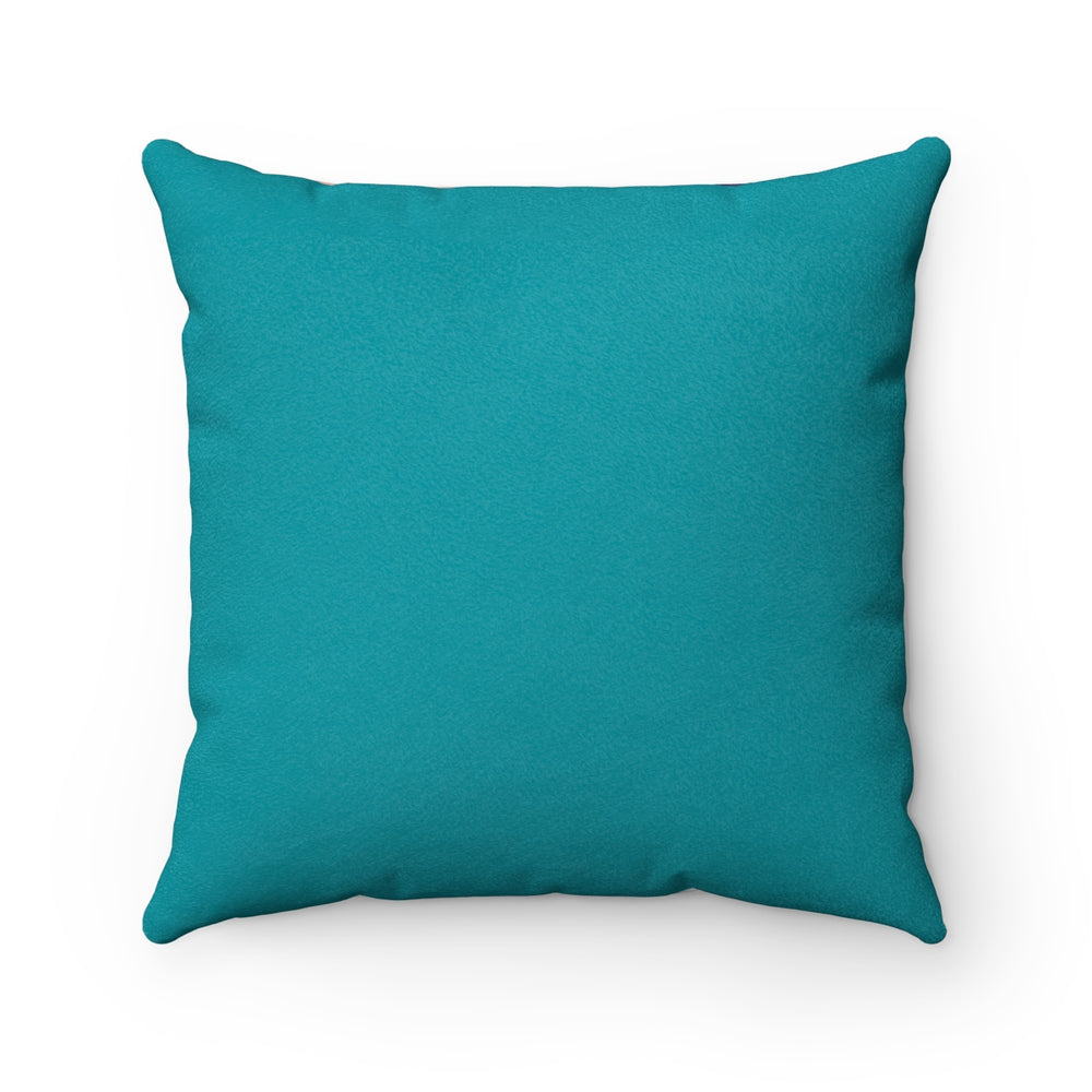 Jasmine - Faux Suede Square Pillow