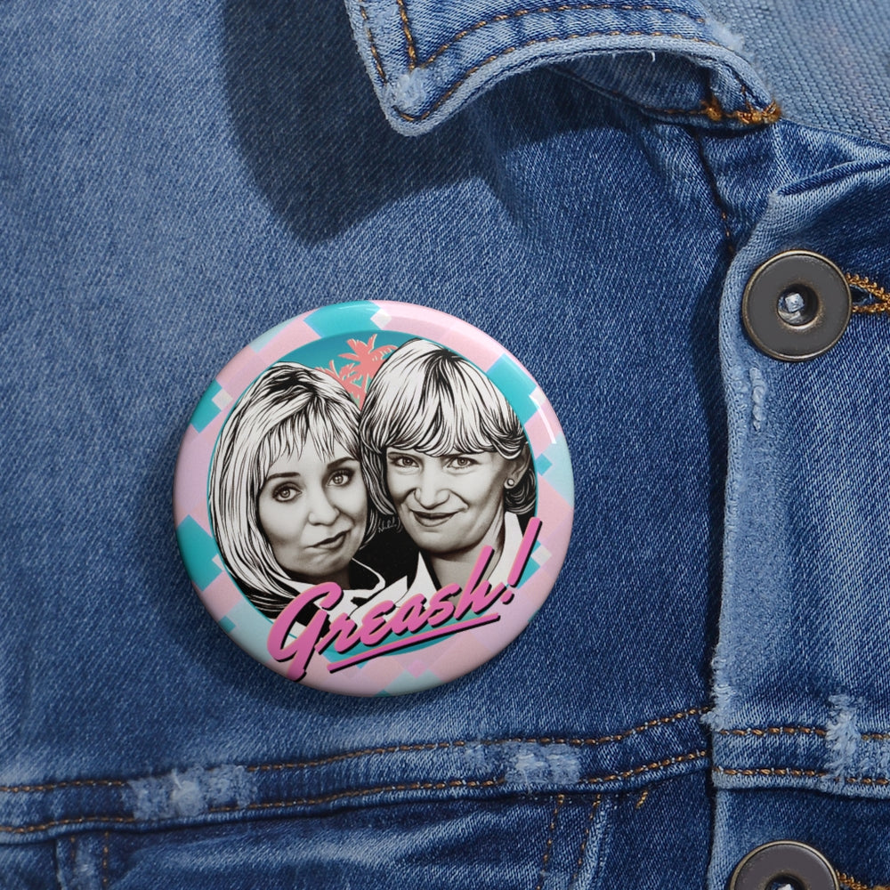 GREASH! - Custom Pin Buttons