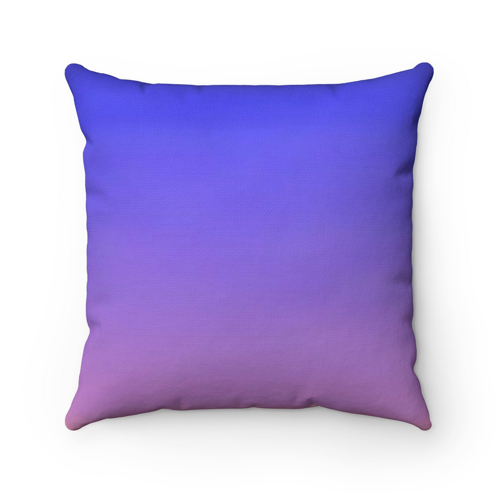 DEAD ON THE INSIDE - - Spun Polyester Square Pillow 16x16""