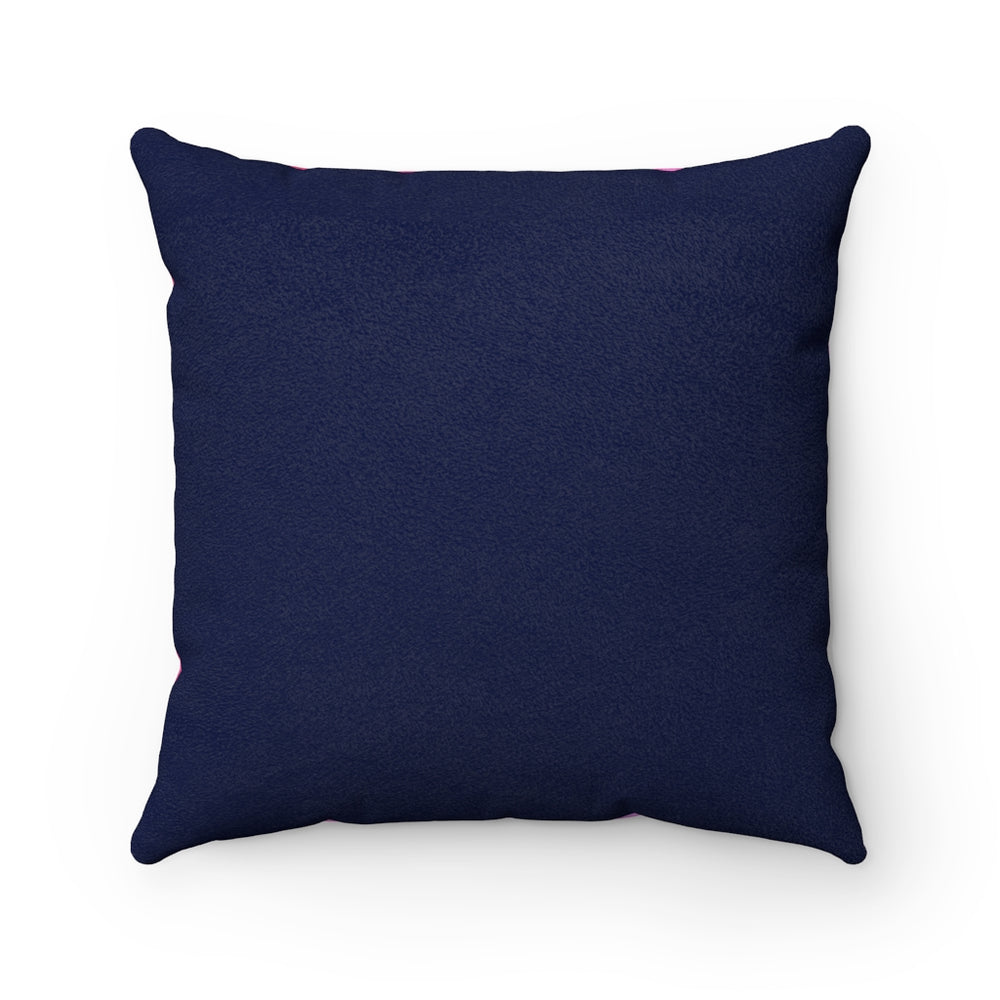 BABY - Faux Suede Square Pillow 16x16""