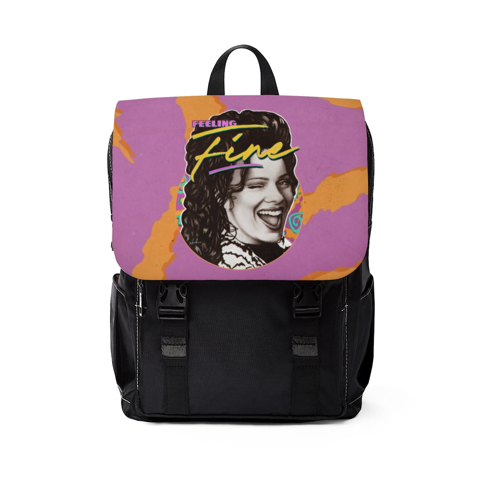 FEELING FINE - Unisex Casual Shoulder Backpack